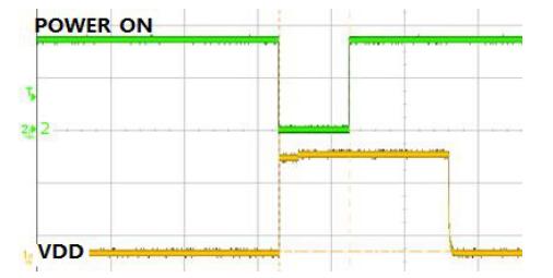 图 2-3 模块开机失败