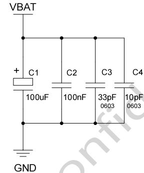 图 5:VBAT 输入参考电路